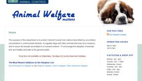 Website: Harnett County Animal Control