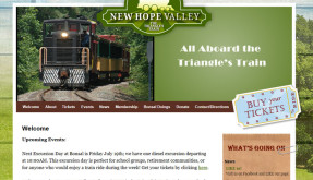 Website: The Triangle's Train
