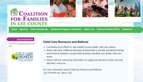 Website: Coalition for Families