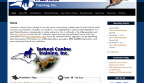 Website: Tarheel Canine Training, Inc. | Sanford, NC