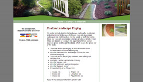 Website: Curb Design | Coats, NC